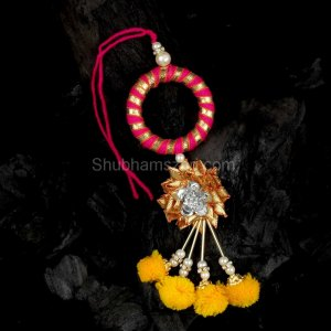 Golden Lumba Rakhi