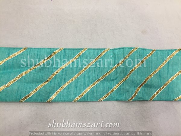 FIROZI color handmade embellish dupatta lace|| crafting ribbon tape || curtain fabric trim || edging for cushion covers