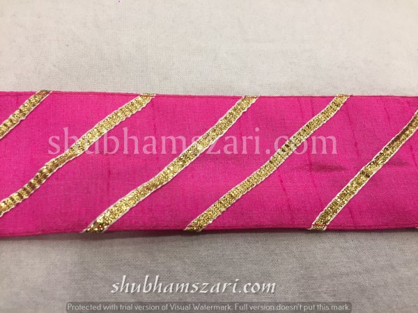 RANI color handmade embellish dupatta lace|| crafting ribbon tape || curtain fabric trim || edging for cushion covers