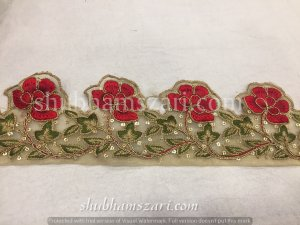 Fancy cutwork lace