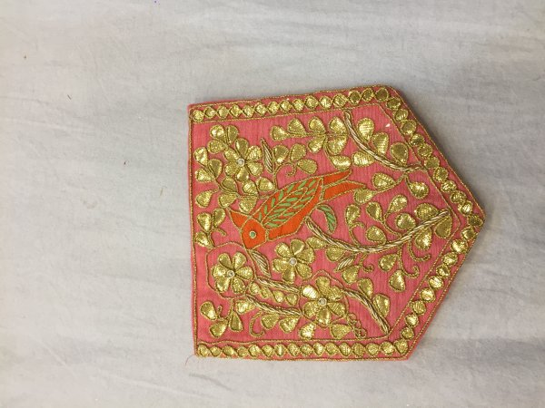GAJRI HAND CRAFTED THRED WORK POCKET FOR SUITS SHIRT||FOR GIFTING||PATCH||CLOTH DECORATED||APPLIQUE