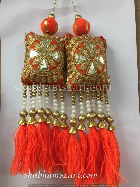 Shubhams Fancy Latkan For embellish saris Blouse lehengas and kurtie