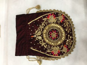 HAND WORK POTLI BAG FOR GIVE AWAY GIFTS