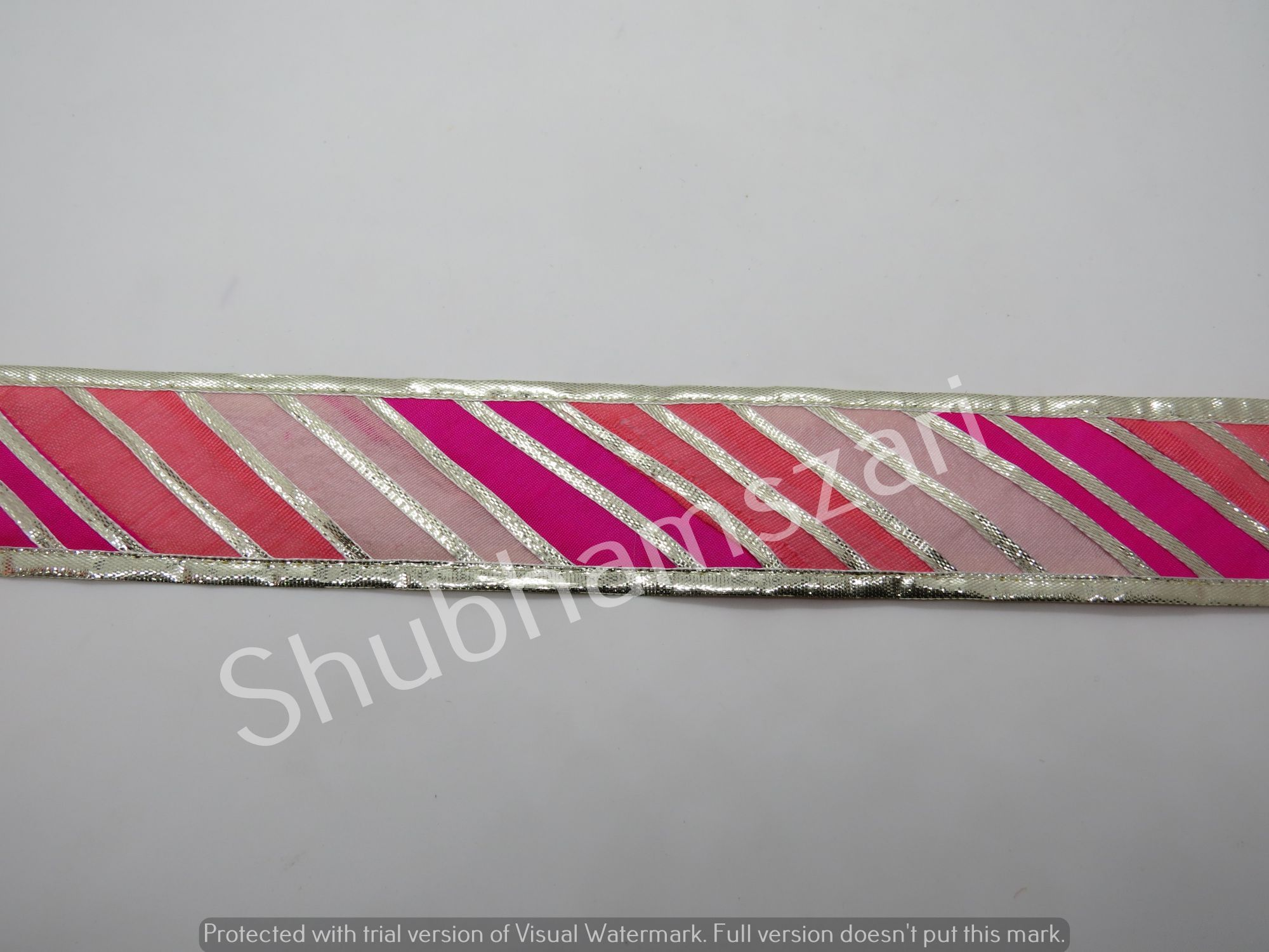 wholesale 9 Mtr mutli color handmade embellish dupatta lace|| crafting ribbon tape || curtain fabric trim || edging trim for cushion covers