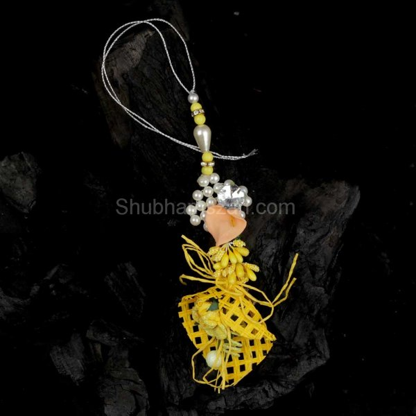 Pearl Beaded Lumba Rakhi