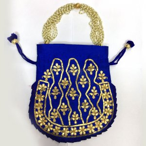 Potli Bag Blue